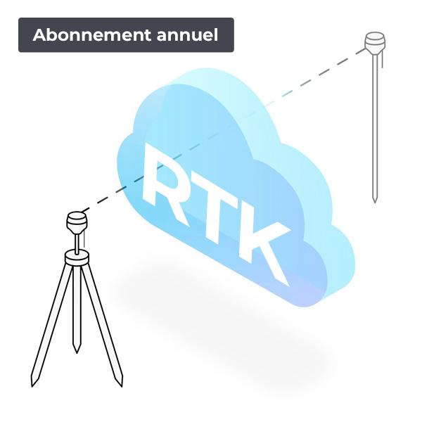 Abonnement GNSS RTK annuel