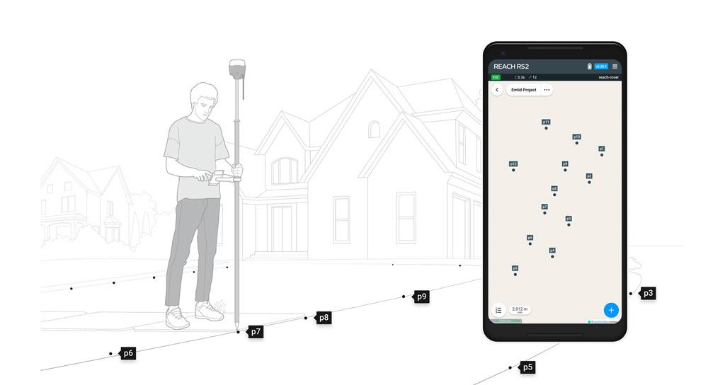 récepteur GNSS Emlid pour la topographie